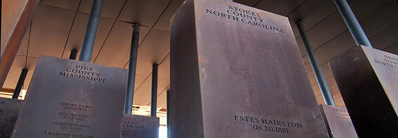 Legacy Museum Lynching Memorials
