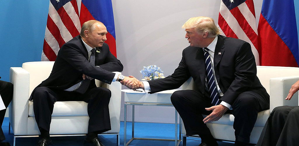 Picture of Trump and Putin: God's gift